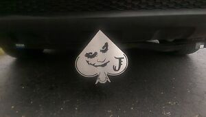 new Limited Edition Batman Series Trailer Hitch Cover Joker