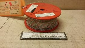 1000 Nos Electrical Wire 22 awg 361608 137 Mil w 81044 12 44a0111 22 925