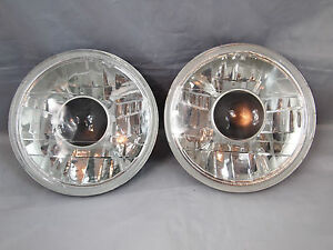 97 15 Jeep Wrangler Tj Jk 7 Projector Round Chrome Replacement Clear Headlights