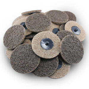 200 Pack 3 Roloc Surface Conditioning Discs Coarse Tan Quick Change Prep Pads