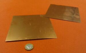 110 Copper Sheet Soft Annealed 016 Thick X 6 0 Wide X 6 0 Length 2 Unit