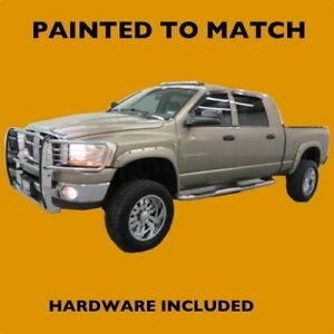New Dodge Ram 2002 2003 2004 Truck Painted Fender Flares To Match Bolt Style