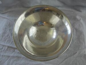 Vintage Towle 123 Sterling Silver Footed 9 Bowl No Mono
