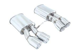 Megan Supremo Axle Back Exhaust 3 35 Ss Roll Tips For 14 Bmw M6 Gran Coupe F06