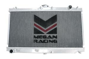 Megan High Performance Aluminum Radiator For 99 05 Mazda Miata Mx5 Mx 5 1 8l Mt