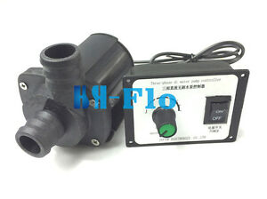 Hsh flo Dc Water Pump 12v 3 Phase Hot Water Booster Pump 2600l h Amphibious