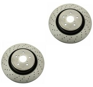 Set Of 2 Disc Brake Rotors Brembo 09a30011 For Lexus Is F 5 0l 2008 2014