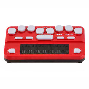 Braille Smart Beetle Portable 14 cell For Work And School Travel Brailler