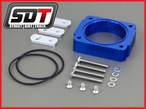 Fits 05 10 Ford Mustang High Performance Blue Throttle Body Spacer 4 0l V6 Only