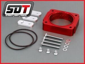Fits 2005 2010 Ford Mustang 4 0l V6 High Red Performance Throttle Body Spacer