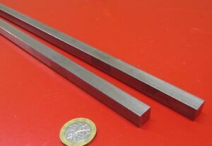 Square 1018 Steel Bar 7 16 Thick X 7 16 Wide X 36 Length 2 Pcs