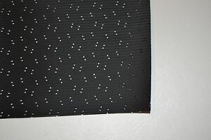 1975 75 Chevelle Malibu Ss Black Perforated Hardtop Headliner Usa Made