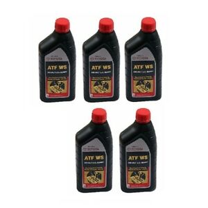 5 Automatic Transmission Fluid 00289atfws For Toyota Highlander Camry Tundra