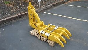 New 24 X 62 Heavy Duty Mechanical Thumb For Backhoes