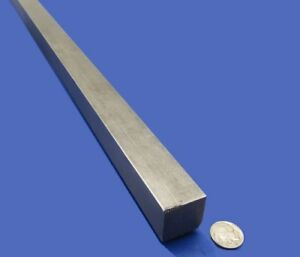 Square 1018 Steel Bar 1 1 8 Thick X 1 1 8 Wide X 36 Length 1 Pcs