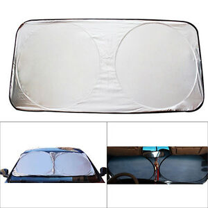 Foldable Front Rear Car Window Sun Shade Windshield Auto Visor Snow Block Cover