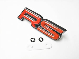 For Honda Rs Grill Emblem Logo Badge Sticker Decal Rsx Jdm New