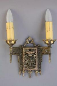 1 Of 4 1920 S Sconce Lights Tudor Spanish Revival French Colonial Cottage 6867