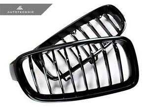 New Gloss Black Replacement Front Grille For 12 15 Bmw F30 F31 3 Series Sedan