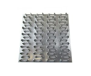 50 Ea 4 X 4 Truss Plate Mending Plate Nail Teeth Structural Connecting Plate