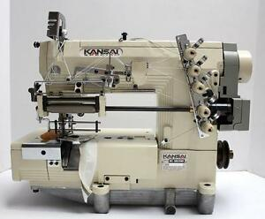 Kansai Special Wx8803emk Elastic Lace Attaching Coverstitch Sewing Machine Head