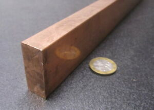 182 Copper Bar 5 8 Thick X 1 1 2 Wide X 6 Foot Length