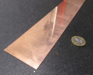 110 Copper Foil Soft Temper 003 Thick X 2 0 Wide X 100 Foot Length
