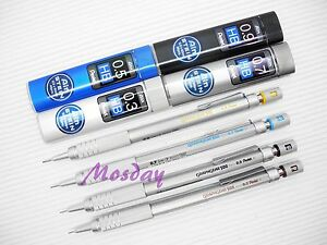 4 Size Set Pentel Graphgear 500 Mechanical Drafting Pencil 4 Boxes Lead
