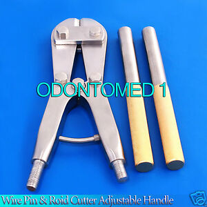 T c Wire Pin Rod Cutter Adjustable Handle 18 Orthopedic Instruments Bc 01