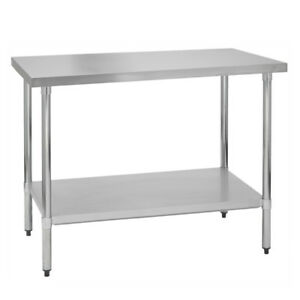 Stainless Steel Commercial Work Prep Table 30 X 36 G