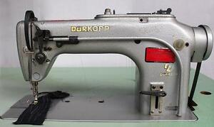 Durkopp Adler 211 Straight Lockstitch Reverse Industrial Sewing Machine 110v