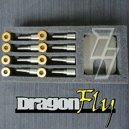 Industrial Injection Dfly 50hp Nozzle Set For 6 6l Duramax Lb7 2001 2004