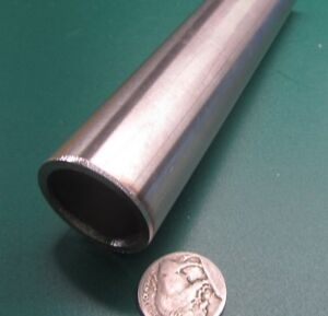 316 Stainless Steel Tube 1 1 4 Od X 1 010 Id X 120 Wall X 48 Length
