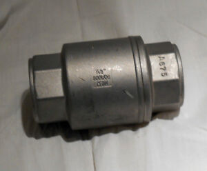 Stainless Steel 316 In line Check Valve 800 Wog cf8m New