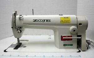 Zoje Zj8500h Straight Lockstitch Big Hook Reverse Industrial Sewing Machine New