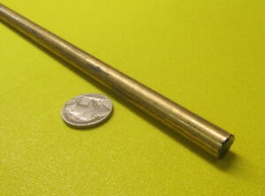 316 Alloy Bronze Round Solid Rod 3 8 Diameter X 3 Foot Length