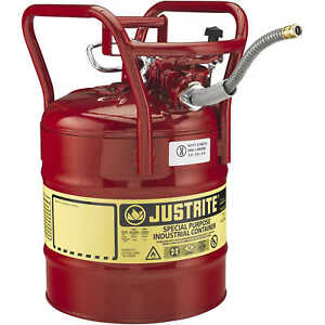 Justrite Uno Dot Safety Can Five gallon