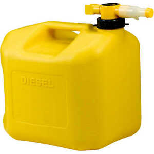 No spill Carb Compliant Diesel Can 5 Gallon