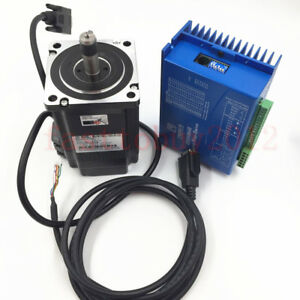 Hybrid Closed Loop Stepper Motor Drive Kit Nema34 System 8 5nm 5a Encoder 2ph