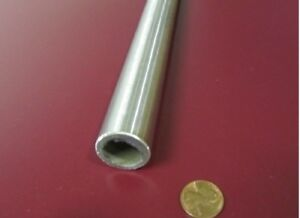304 Stainless Steel Tube Metric 25 Mm Od X 19 Mm Id X 3 Mm Wall X 1 Foot Length