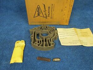 1954 61 Dodge Plymouth Powerflite A T 2 Spd Valve Body Housing Nos Mopar 1015