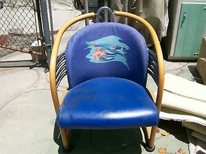 Chairs With Wheels Art Deco Looking Collectible Cruise Ship Chairs 4