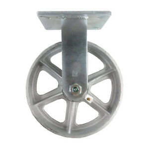 10 X 3 Steel Wheel Caster Rigid