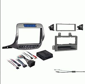 Chevy Camaro 2010 2015 Car Stereo Radio Dash Install Kit With Antenna Adapter