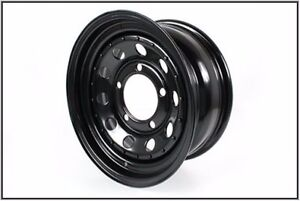 Land Rover Discovery Defender Range Rover Classic Black Steel Road Wheel Grw006