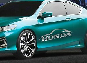 For Honda Sport Car Truck Window Bumper Car Hood Vinyl Decal Sticker Multi color
