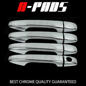 For Toyota Prius Sienna Venza 2010 2013 Chrome 4 Doors Handle Covers