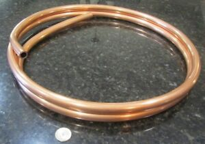 Copper Tubing Alloy 122 3 4 Od X 620 Id X 065 Wall X 10 Ft Coil