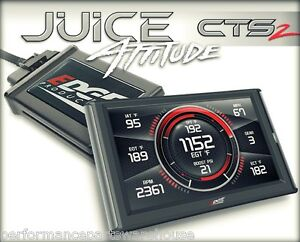 Edge Juice With Attitude Cts2 Tuner 06 07 Lly Lbz Duramax 6 6l 100hp