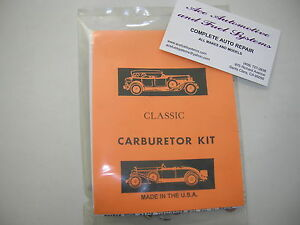 Carter Carburetor Model Wcd 2bbl Complete Carb Rebuild Kit 2056